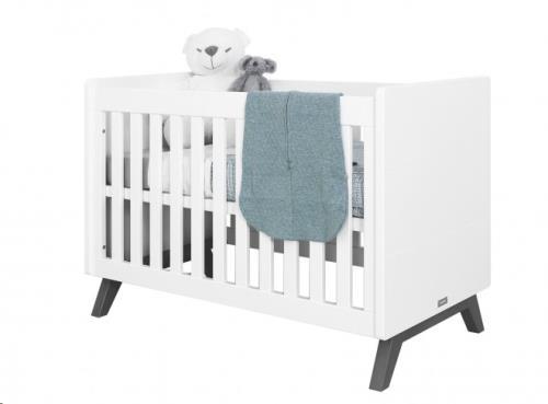 BED 60x120 LEVI WHITE/GREY WASH