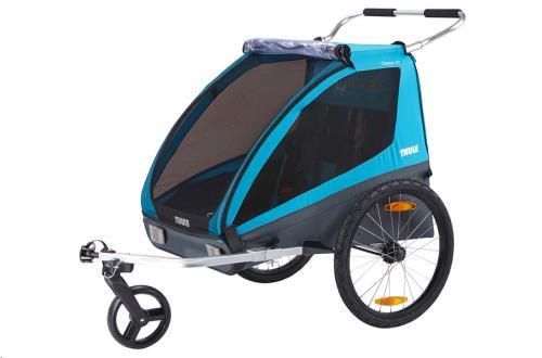 Child Bike trailer Coaster2 XT bike trailer+stroll