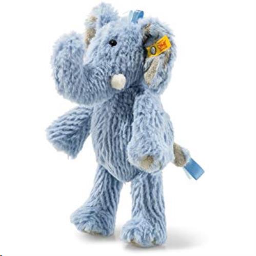 Soft Cuddly Friends Earz elephant, blue