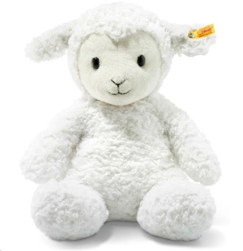 Soft Cuddly Friends Fuzzy lamb, white  28 cm