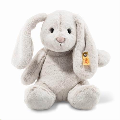 Soft Cuddly Friends Hoppie rabbit, light grey