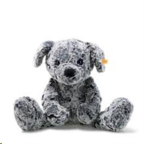 Soft Cuddly Friends Taffy dog, mottled grey