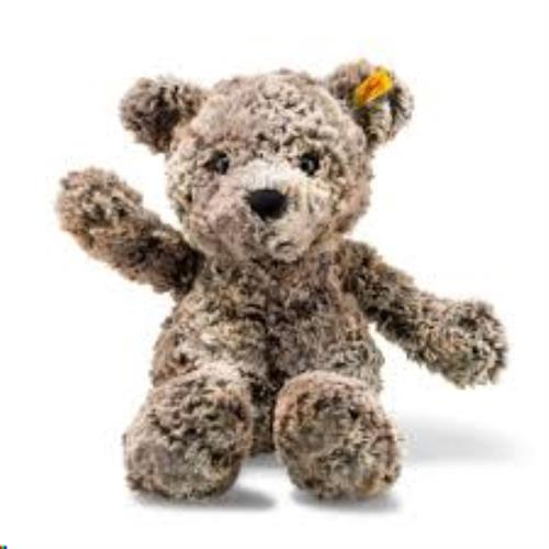 Soft Cuddly Friends Terry Teddy bear, mottled brown