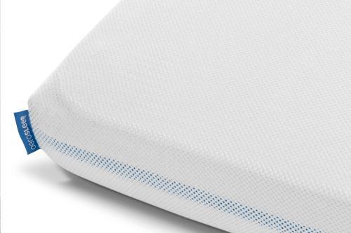 Sleep Safe hoeslaken wit Aeromoov reisbed 60x110