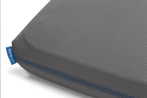 Sleep Safe hoeslaken donker grijs 60x120