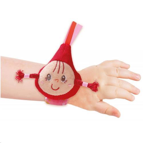 Roodkapje armbandrammelaar