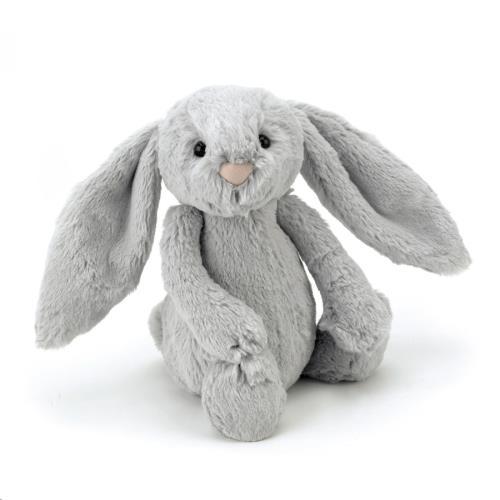 Bashful Silver Bunny Chime