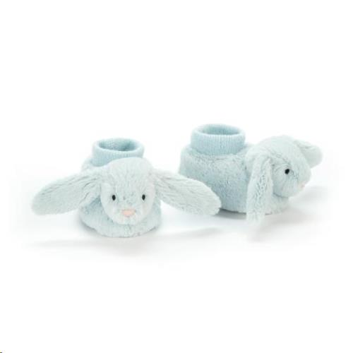 Bashful Blue Bunny Booties 10 CM
