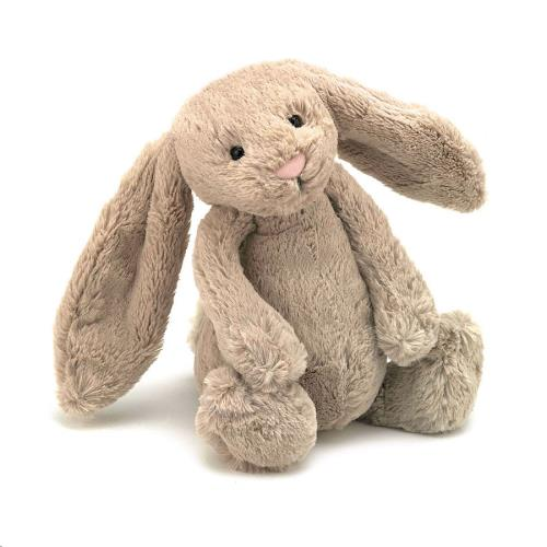 Knuffel Bashful Beige Bunny Small