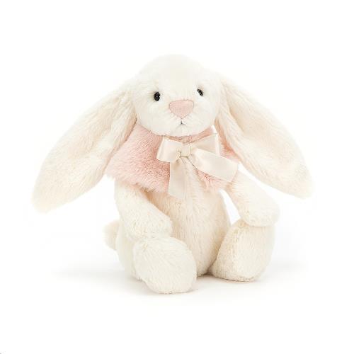 Bashful Cream Snow Bunny