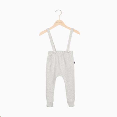 Baby Suspender Pants - Stone HOJ-BSU-206-ST-62-68