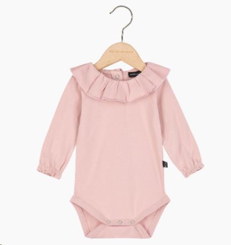 Pierrot Bodysuit - Powder Pink 62-68