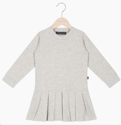 Pleated Dress - Stone 74-80