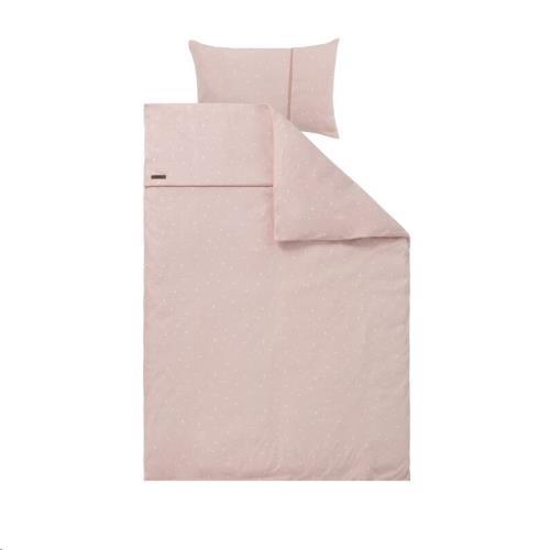 1 pers. dekbedovertrek - little stars pink 140x200 + 60x70