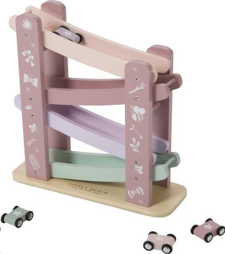 Autobaan hout - pink 28x28x10