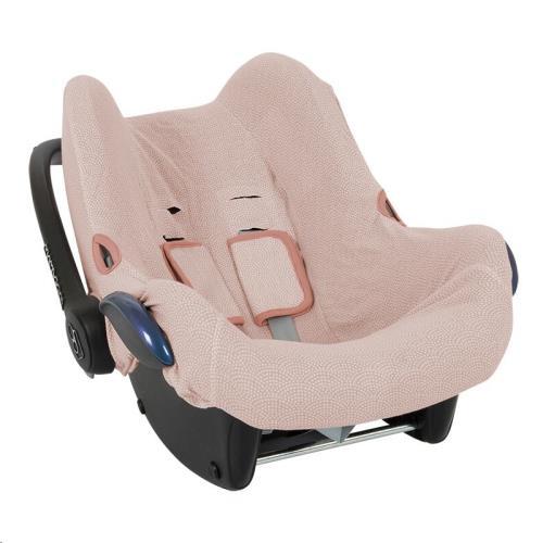 Hoes autostoeltje 0+ - pink waves 0+
