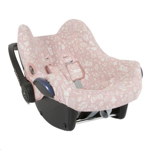Hoes autostoeltje 0+ - adventure pink 0+