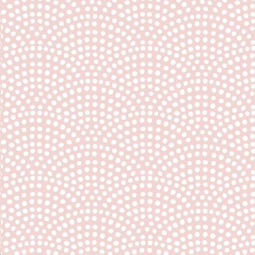 Vliesbehang - pink waves 53 cm x 10 m