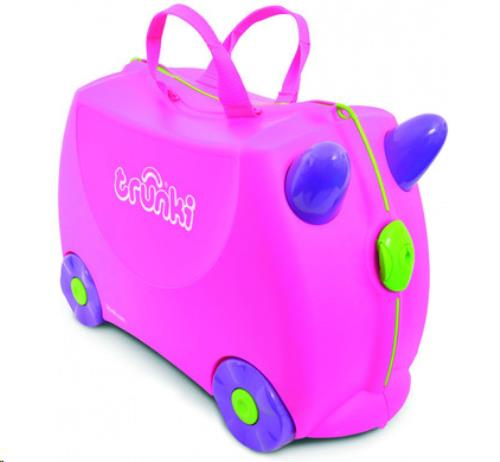 Trunki Ride-on koffer ROZE Trixie 46x30x21cm
