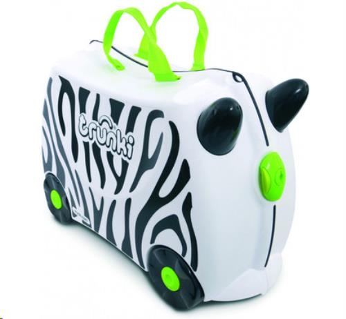 Trunki Ride-on koffer ZEBRA Zimba 46x30x21cm