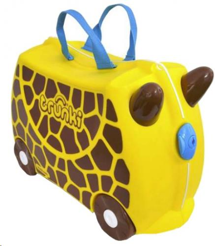 Trunki Ride-on koffer GIRAF Gerry 46x30x21cm
