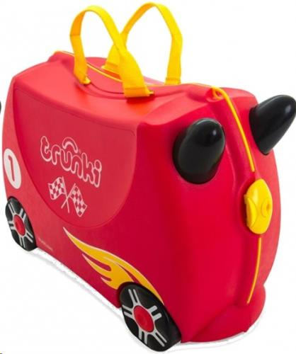Trunki Ride-on koffer RACEWAGEN Rocco 46x30x21cm