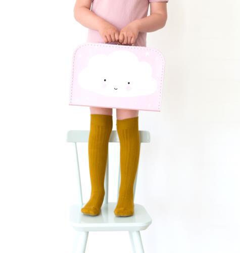 Koffer: Wolkje - roze