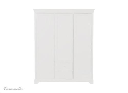 french line - 3-deurs kast