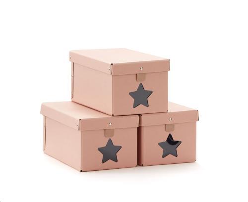 Schoendozen roze 3 st