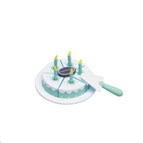 Verjaardagstaart blauw
