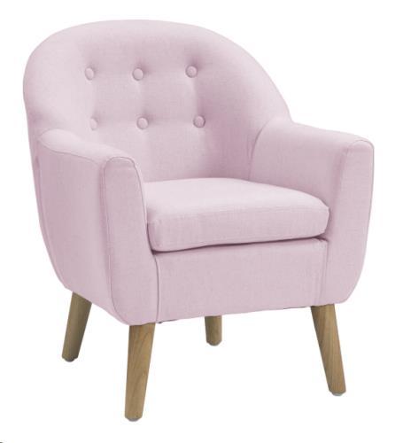 Sofa lichtroze 49 x 51 x 59 cm