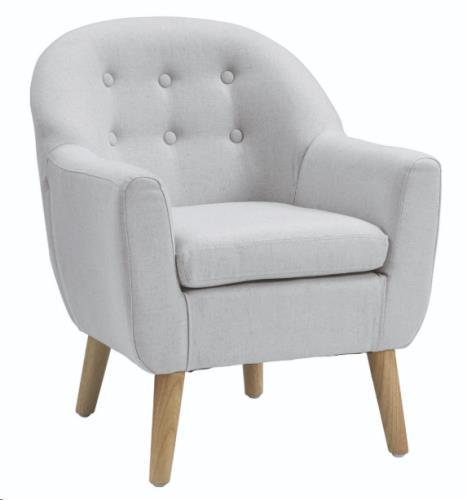 Sofa grijs 49x51x59 cm