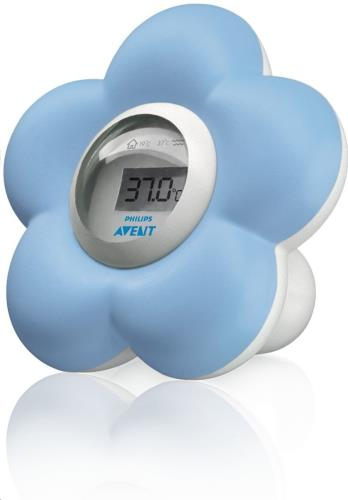 Digitale Badthermometer Bloem Blauw