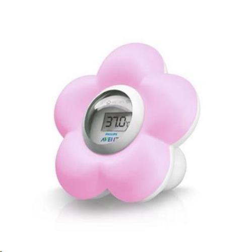 Digitale Badthermometer Bloem Roze