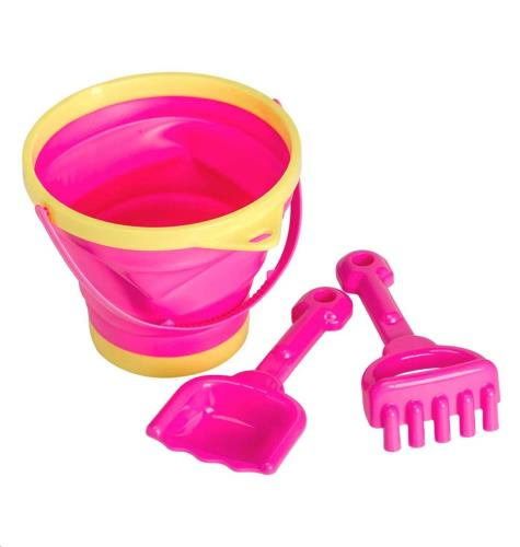 Bucket and spade set: Pink