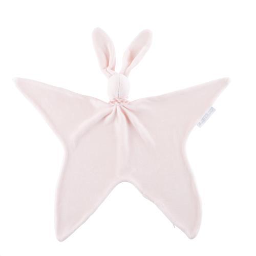 Knuffeldoekje Le doudou Fluweel royal pink