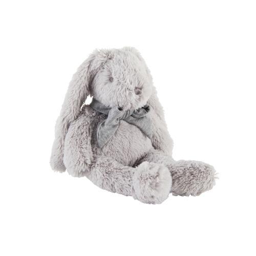Knuffels Muzikaal konijn grijs - 30cm Grijs