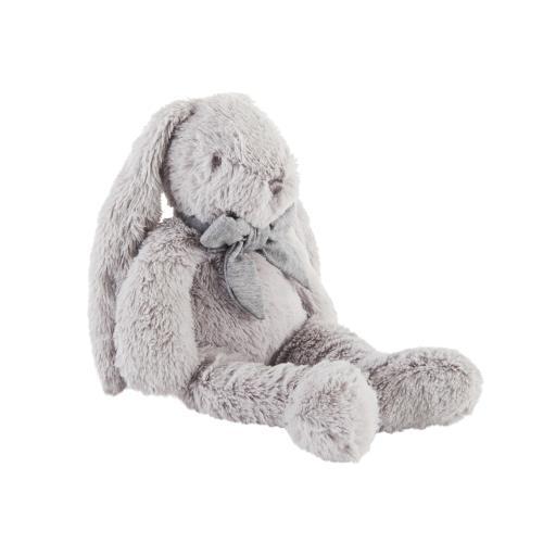 Knuffels Konijn grijs - 35cm Grijs
