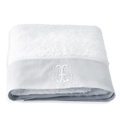 Pearl Badhanddoek Wit/grijs
