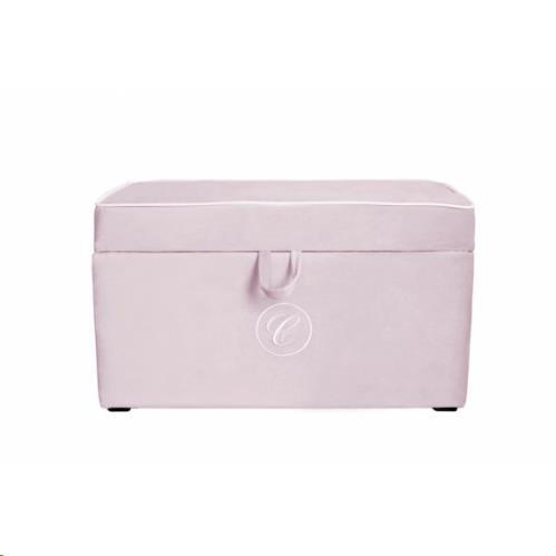 opbergbox - pink trunk with emblem (Caramella)
