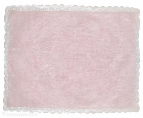 Tapijt roze met crochet