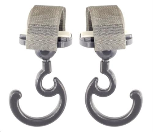 clips voor de verzorgingstas grijs