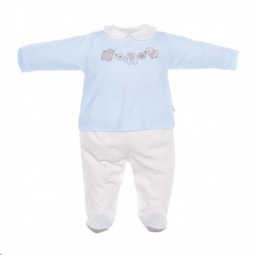 pyjama 2-delig blauw