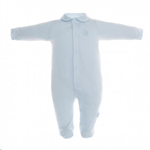 Cambrass pyjama tencel blauw