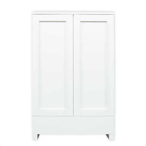 2-deurskast wit