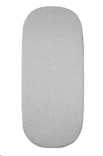 Essentials hoeslaken grey melange