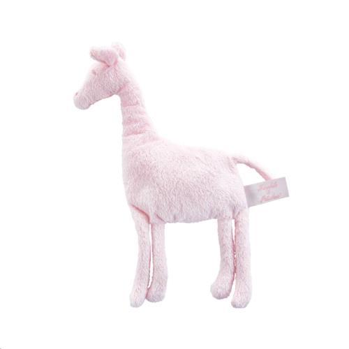Knuffel Câlin doudou giraf 30 cm roze