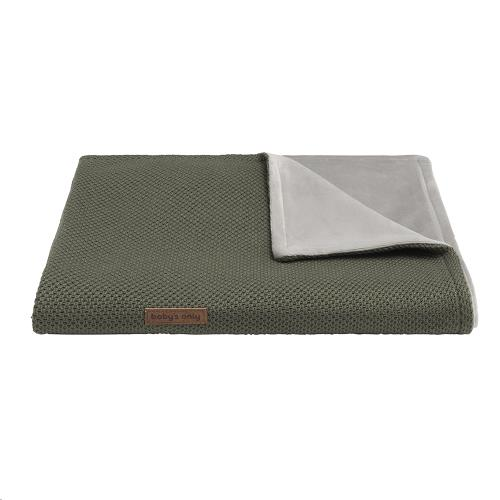 Wiegdeken soft Classic khaki