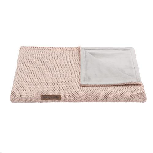 Ledikantdeken soft Classic blush