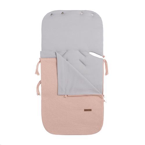 Zomer voetenzak autostoel 0+ Classic blush